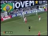 Потрясающий гол Неймар 2012 | Santos 3 x 1 Internacional | Libertadores - 07/03/12