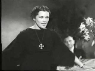 Любимая актриса Гитлера- русская разведчица Ольга Чехова(1934)