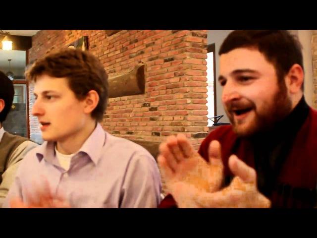 Грузины поют абхазскую песню afxazuri