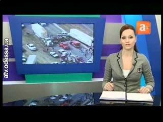 100-километровая пробка на трассе Одесса — Киев
