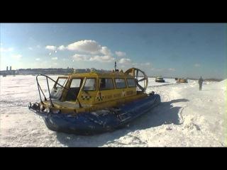 Суда на воздушной подушке Хивус на линии Нижний Новгород - Бор
