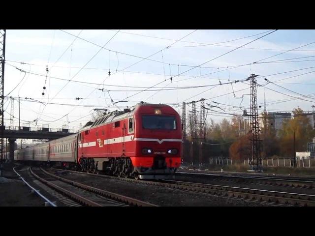 ЭП2К-106 с поездом №109 Н.Уренгой-Москва