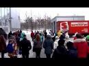 Игра в снежки. Парк Есенина. 13.01.2013