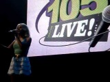 The Saturdays - My Heart Takes Over - Wave 105 Live in Bournemouth 310312