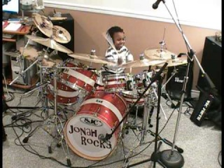 System of a Down-Toxicity, Drum Cover, 5 Year Old Drummer, Jonah Rocks