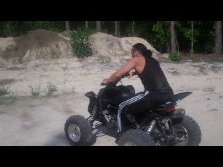 Matt Rocks & Wrecks The ATV!