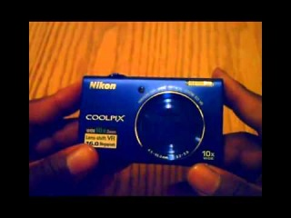 Распаковка Nikon Coolpix S6200 (англ.)