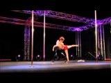 Masayo Okamoto&Kazuya Naka Doubles Pole Dance