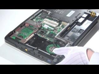 Ноутбук Acer Aspire 5920G - как разобрать и из чего состоит