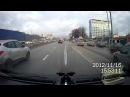Авария пьяного быдло за рулем ДТП