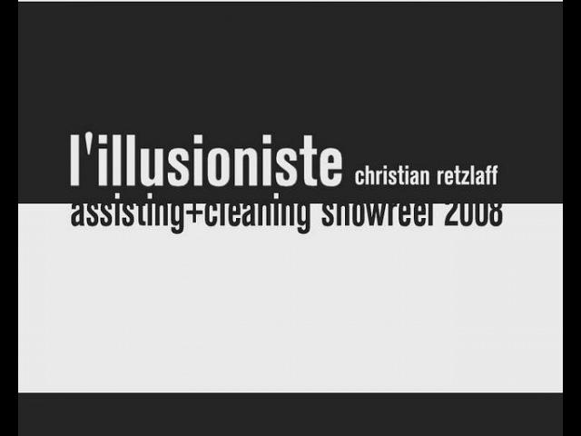 L' illusionniste - Pencil test - by Christian Retzlaff, Victor Ens, Nicolas Debray Manolo Garcia Galiana