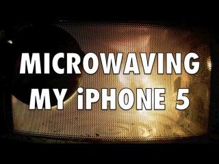 Про зарядку телефона в микроволновке