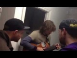 Harry josh and jack jamming morning style (More Like Trees, Reeps One, Hobbit)
