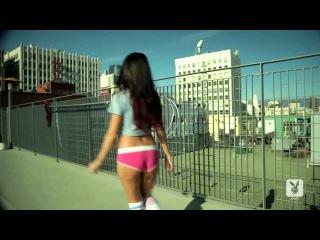 Playboy.com Coed Rachel Shine's Sexy Shoot