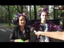 """Репортаж канала """"Mix TV"""" о визите Леди Гага в Латвию"""