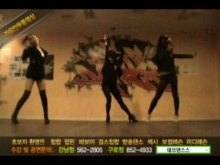Def dance skool dance video Korean girl's group ★Kara -