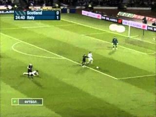Георгий Черданцев, матч Шотландия - Италия 17.11.2007