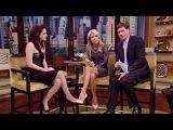 Kristen Stewart at Live with Kelly 5/31/2012