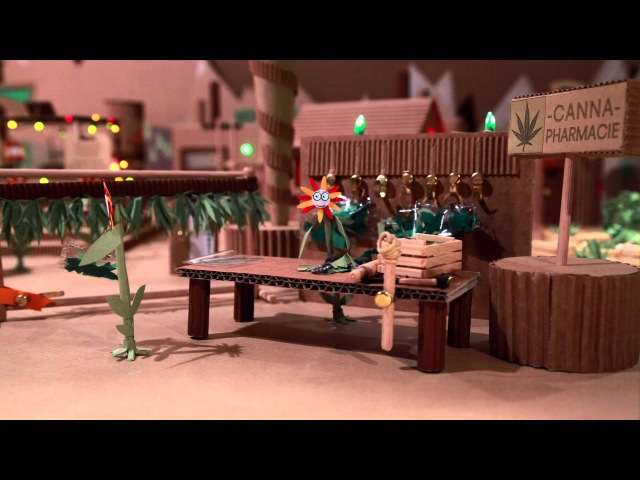 Aya Waska - Sème (Video clip Official - Reggae Stop Motion 2012)