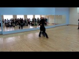 Dips and tricks workshop by Factoria de Baile @ 2nd Belarusian bachata festival