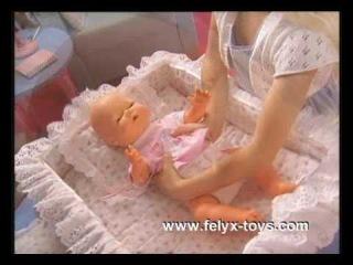 Кукла Baby Amore Pipi Popo