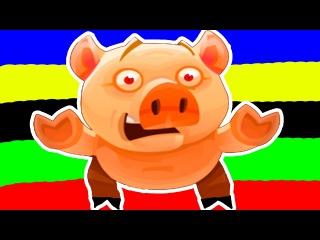 Мультик Приключение Беги Пеппа Беги-Run Pinky Run Игровой мультик. Приложение для детей про свинку