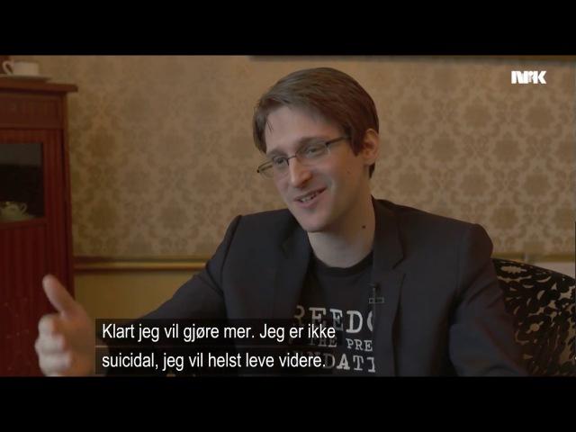 Edward Snowden interview part 2