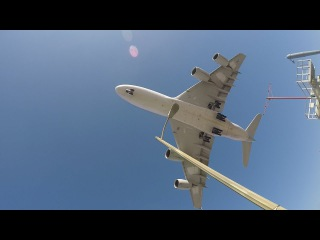 Cycling Los Angeles: Airbus A380 at LAX Martin Luther King day ride!