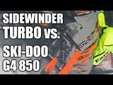 Yamaha SideWinder Turbo vs. Ski-Doo G4 850