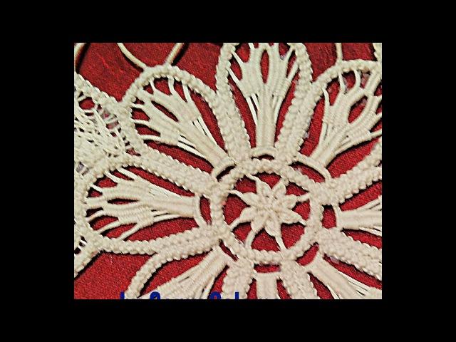 Laseta punto riempimento petali(2) Romanian point lace