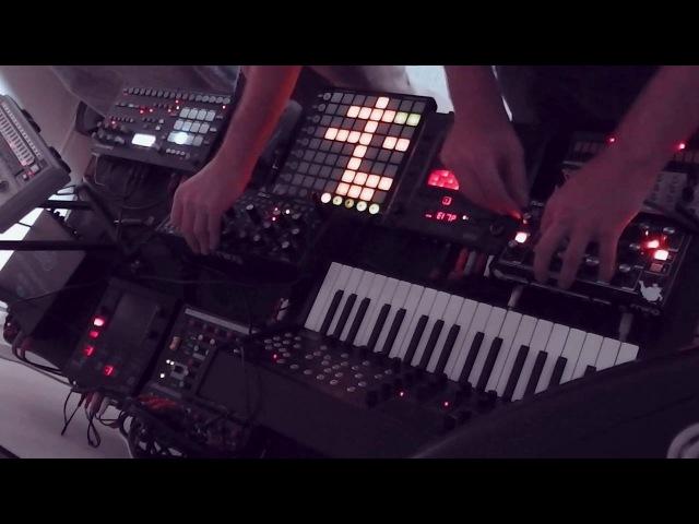Buran - Anodyne (Live Analog Techno) - Analog RYTM, 606, Mother 32, MS20, Volca Keys, Moog Minitaur