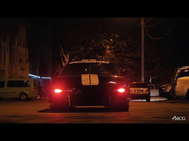 BLACK Ford Probe COBRA @ Dnepr city Ukraine HD movie