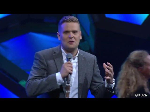 Icelandic standup about Nordic neighbours in general and Finnish language in particular