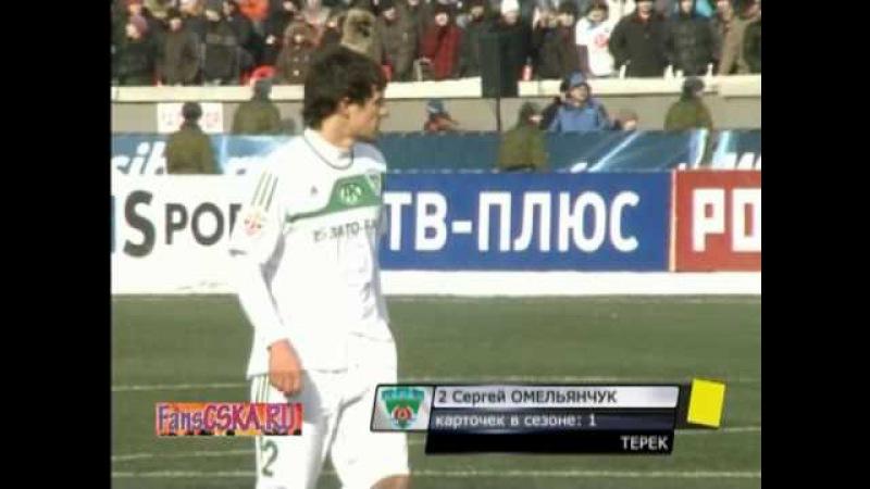 1 тур РПЛ 2010 Асильдаров Сибирь Терек 0 2