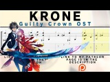 Krone - Guilty Crown OST Fingerstyle Tab Playthrough