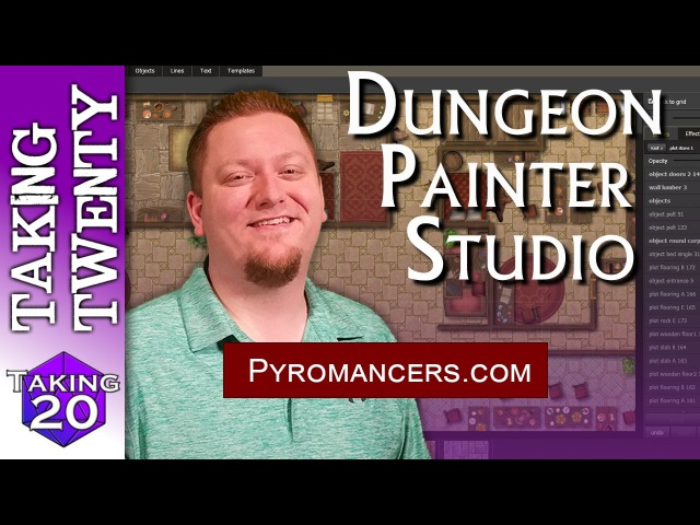 Dungeon Painter Studio - Map Making Tool for your Roll20 Fantasy Grounds DD game