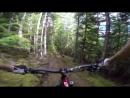 Скоростной спуск на горном велосипеде . Mountain Bike GoPro