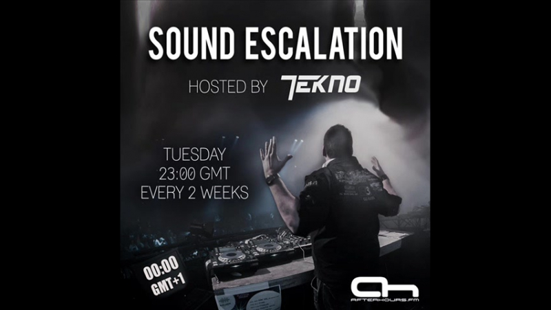 TEKNO - Sound Escalation 094 (with 2nd Phase Guest Mix) on AH. FM (09-08-2016). [Trance-Epocha]