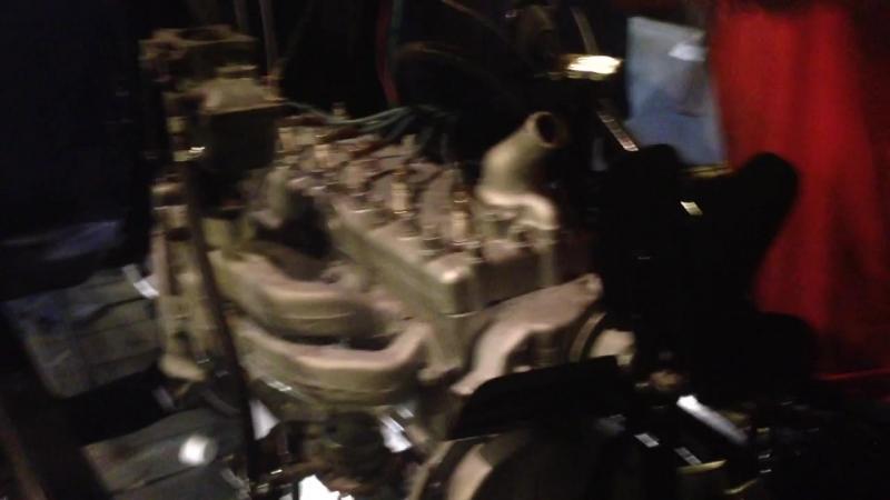 The first engine start GAZ 51