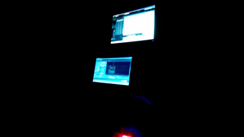 Lexx Murda записывает трек It's Murda на студии Millenium Records