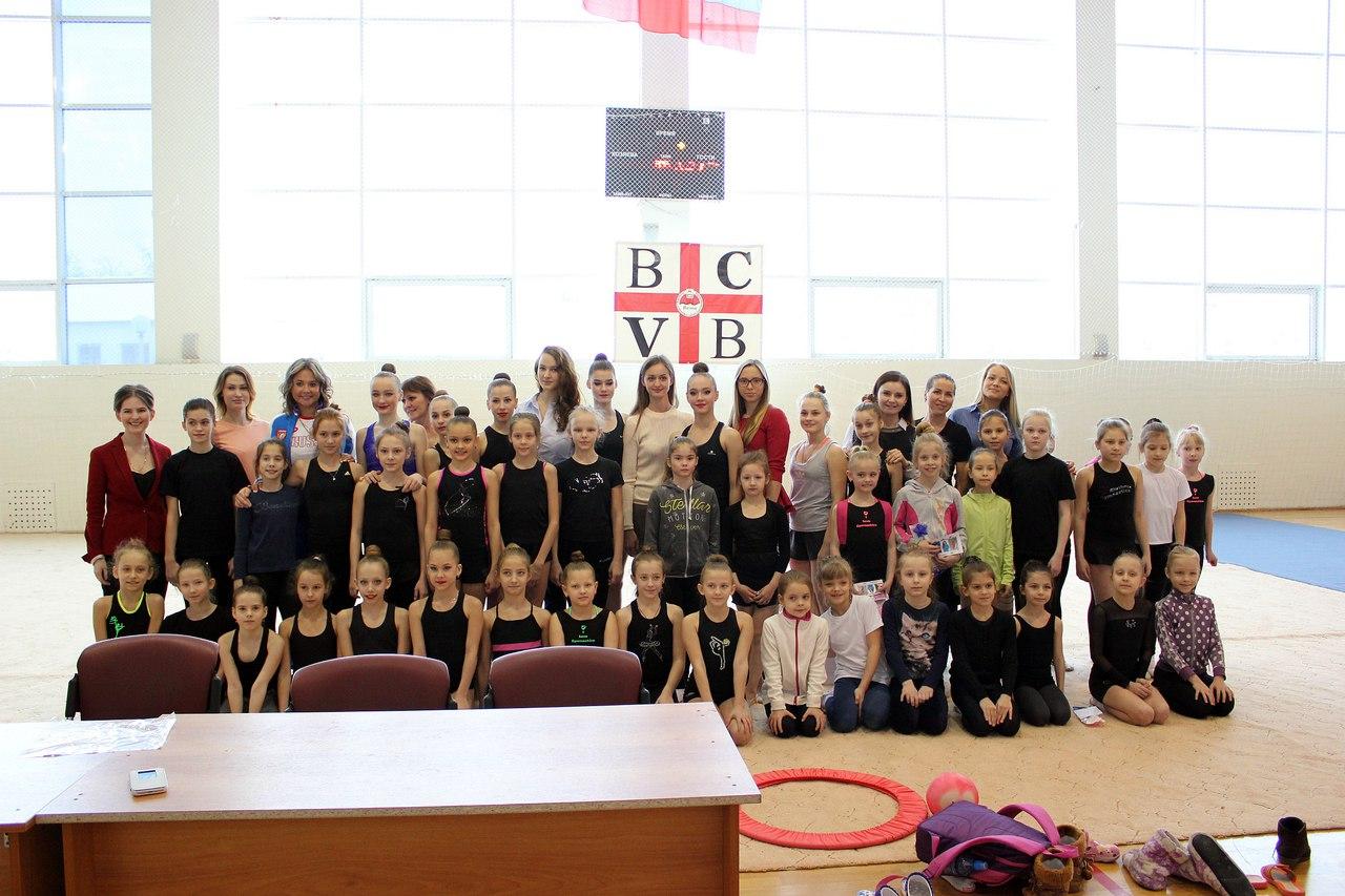 Нижегородские гимнастки посетили Балахну