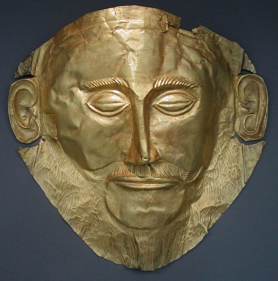 Златната маска на цар Агамемнон