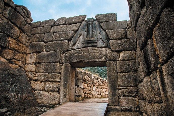 Лъвската порта на Микена