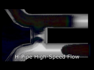 X-Pipe vs H-Pipe vs Factory Pipe - Ford Mustang V6 - Exhaust Flow Simulation