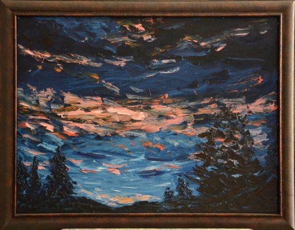 Выставка картин Константина и Светланы Шаповаловых