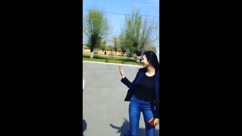 весенние Очирка и Капитоша :)