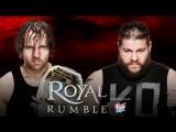 (HighLights) Dean Ambrose vs Kevin Owens - Royal Rumble 2016