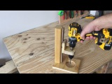 Making a Mobile Drill Press (Drill Guide) - El Yap