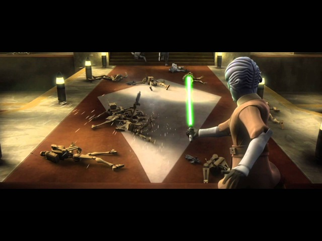 Star Wars The Clone Wars Savage Opress vs Halsey 1080p