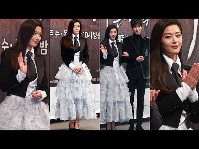 전지현, 패션 여왕이 밝힌 의상 콘셉트는? ('푸른 바다의 전설' 제작발표회)